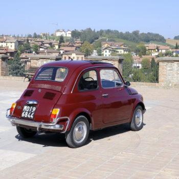 La Fiat 500 di Paride