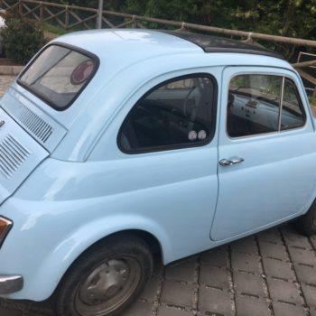 La Fiat 500 di Matautu
