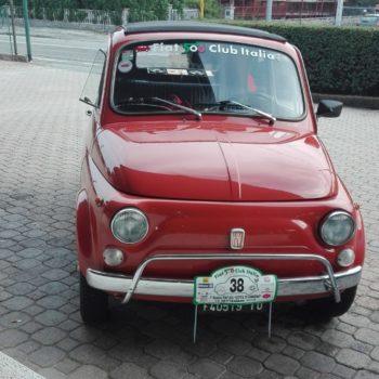 La Fiat 500 di Vincenzo