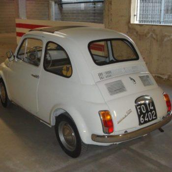 La Fiat 500 di Bargione