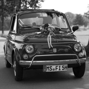 La Fiat 500 di Michael