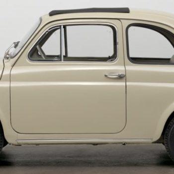 Una Fiat 500 F e la storia di Corrado