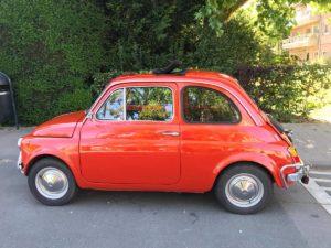 Fiat 500 massimilano belgio lato