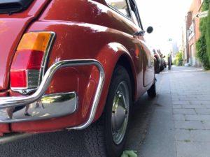 Fiat 500 massimilano belgio retro