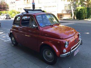 Fiat 500 massimilano belgio trequarti