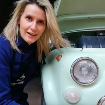 Fiat 500 d'epoca: revisione dei fanali anteriori (1° Parte)