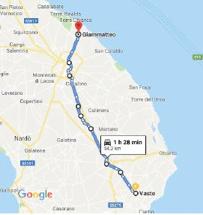fiat 500 f itinerario