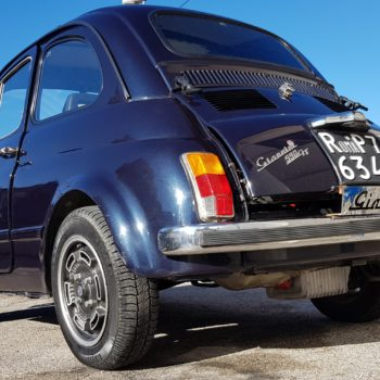 La Fiat 500 di Piganon