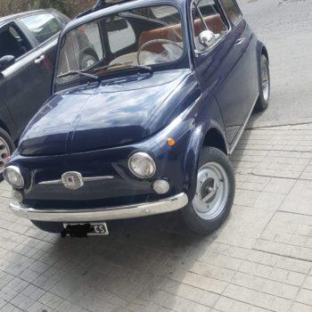 La Fiat 500 di Carmine