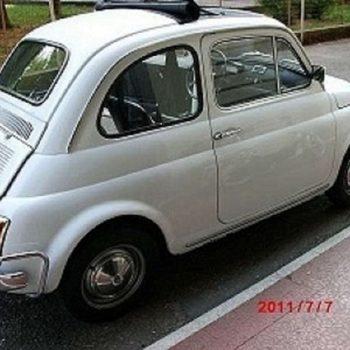 La Fiat 500 di Adriano Casoni