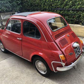 La Fiat 500 di Tappo