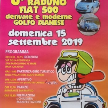 8° RADUNO FIAT 500 GOLFO DIANESE 2019