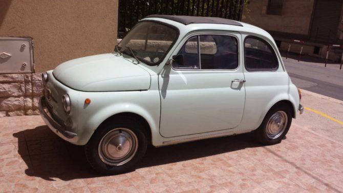 La Fiat 500 F di Nicola è in vendita: chi la vuole?