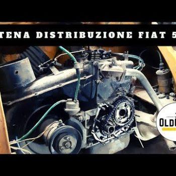 Sostituzione della catena di distribuzione della Fiat 500