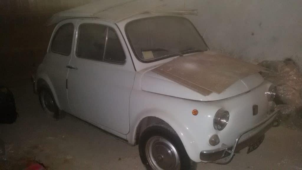 La Fiat 500 di Fox