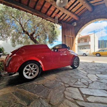 la Fiat 500 di Oscarboi