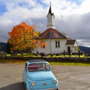 La Fiat 500 di Luigi Blu