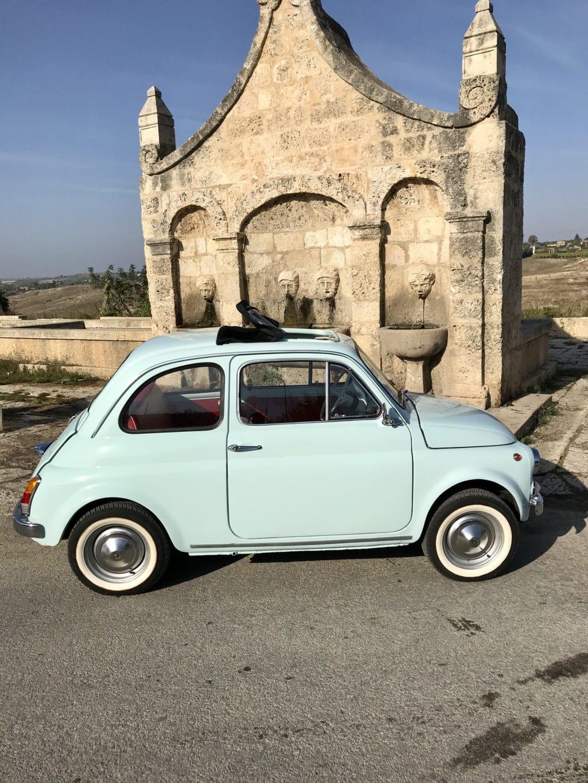 La Fiat 500 di Maurizio1982