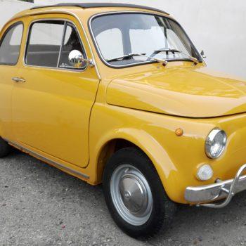 La Fiat 500 di Cristian