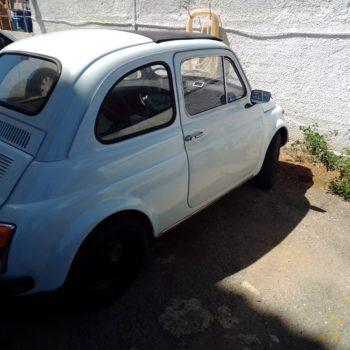 La Fiat 500 di Gioacchino