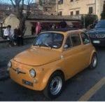 La Fiat 500 di Daniele