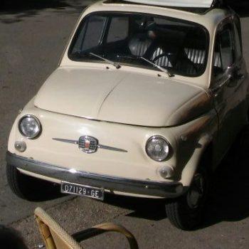 La Fiat 500 di maestro derosa