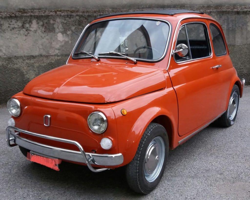 La Fiat 500 di Biagio