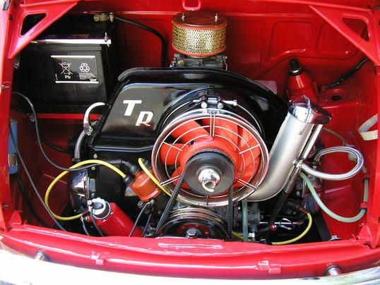 500 Steyr Puch motore