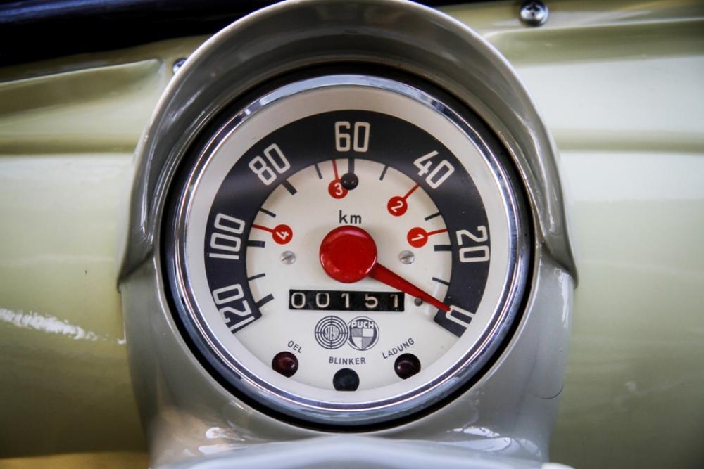 500 Steyr Puch tachimetro