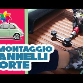 Revisione della portiera della Fiat 500 d'epoca (1° parte)
