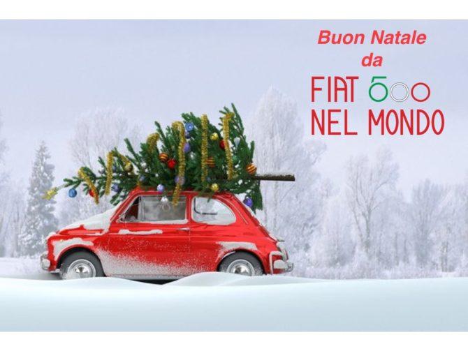Buon Natale a tutti i possesori di una Fiat 500 d'epoca