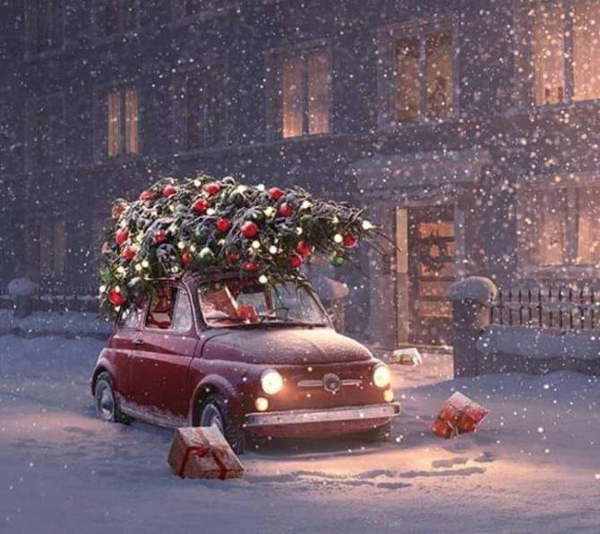 I regali di Natale per tutti gli appassionati delle Fiat 500 d'epoca!