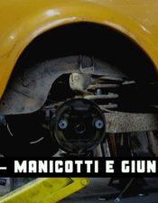 Montaggio Giunti Elastici e Manicotti Semiassi Fiat 500 d'epoca