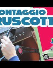 Smontaggio del cruscotto della Fiat 500 L d'epoca