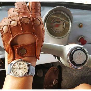 La nostra Fiat 500 si guida con i guanti? Che ne pensate?