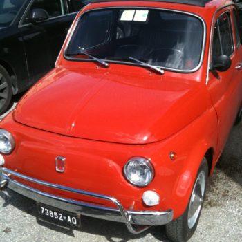 La Fiat 500 di Adelina