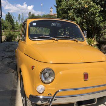 La Fiat 500 di Andrea Bussi