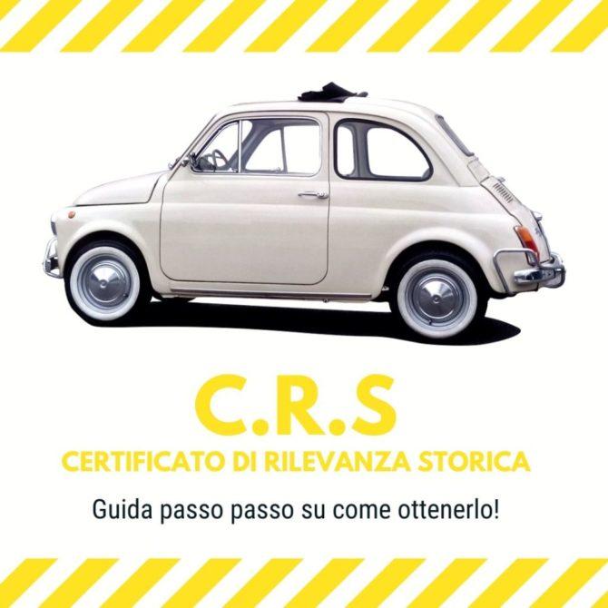 Certificato di Rilevanza Storica per le Fiat 500 d'epoca, come ottenerlo!
