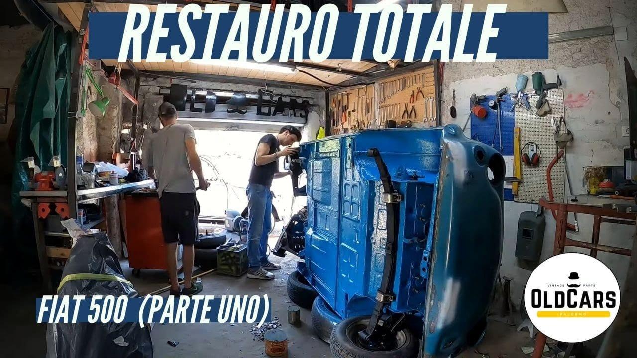 Restauro di una Fiat 500 d'epoca