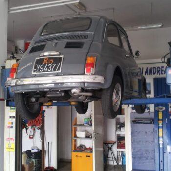 La Fiat 500 di Ricy