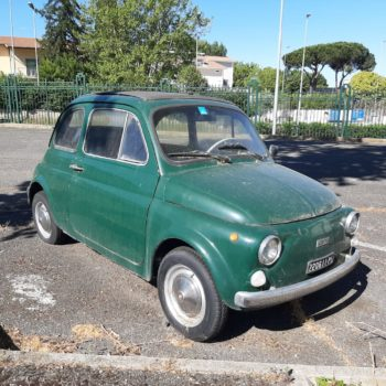 La Fiat 500 di Patrizia è in vendita: chi la vuole?