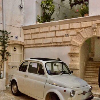 La Fiat 500 di Apechino