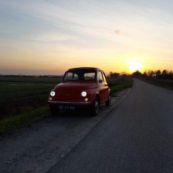 La Fiat 500 di André