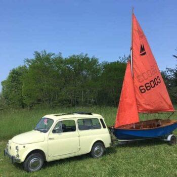 La Fiat 500 di Rubel