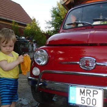 La Fiat 500 di Johannes Ricker