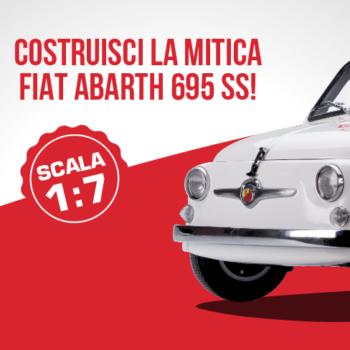 Abarth 695: un auto leggendaria, oggi in scala