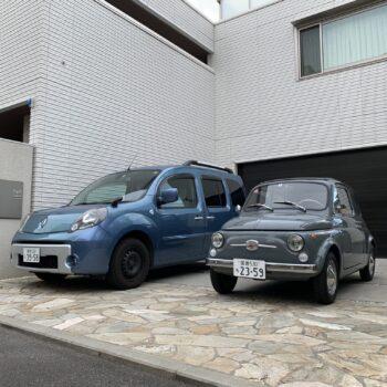 La Fiat 500 di George