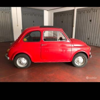 La Fiat 500 di Michele
