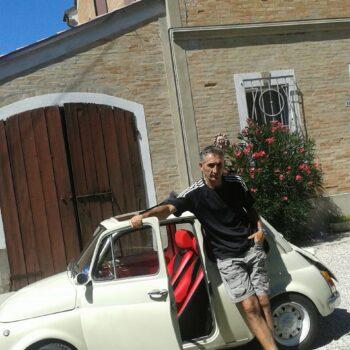 La Fiat 500 di Asirelli Gabriele