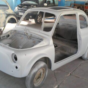 La Fiat 500 di Mauro